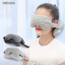 Portable decorative  multi-function eye mask neck pillow - $14.36