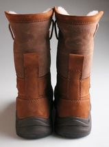 UGG Womens Chestnut Brown Leather Adirondack III Winter Snow Boots 1017430 NIB image 3