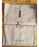 "CANALI 12"" x 14"" Designer Logo Shoe Handbag Storage Sleeper Dust Bag - $3.95"