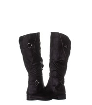 White Mountain Leto Slouch Knee High Boots 928, Black, 7.5 US - €27,49 EUR