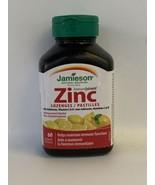 Jamieson Immune Shield Zinc 60 Lemon Menthol Lozenges Sore Throats Exp. ... - $15.00