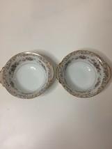NORITAKE CHINA SOMERSET #5317 Japan Small Bowl Set of 2 Flaw - $11.88