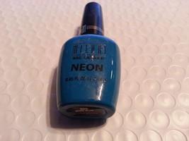 MILANI NAIL POLISH / LACQUER NEON  #505 DUDE BLUE - $4.95