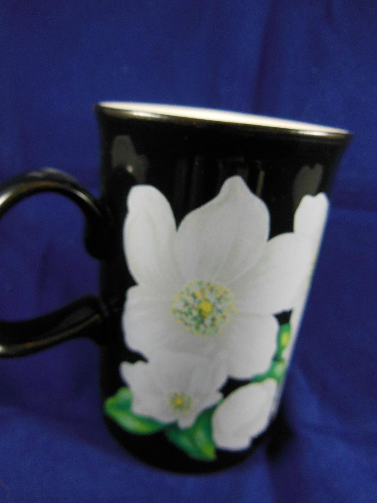 Dunoon Stoneware  Mug Cup Caroline Bessey Christmas Rose  Scotland