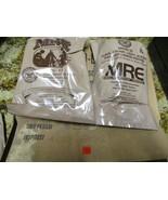 Genuine US Military MRE - 4/19- #17 & 21 Pork Sausage Patty & Chunk Tuna  - $34.65