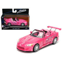 Sukis 2001 Honda S2000 Pink Fast & Furious Movie 1/32 Diecast Model Car ... - $16.74