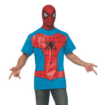 Spider-Man Costume T-Shirt with Mask  - $34.98