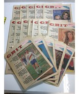 Grit Newspaper January America's Family Publication Lot of 27 Papers 1980s - $93.49