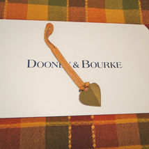 Dooney & Bourke Leather Heart Purse Charm image 4