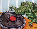 16x20 alligator crocodile signed art print 11x17 glossy finish photo impressionism thumb155 crop