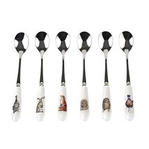 Wrendale by Royal Worcester Tea Spoons, Set of 6 - $27.43