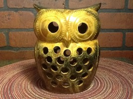 Vintage OMC Japan Ceramic Owl Tea Light/Incense... - $21.85
