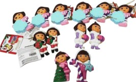 Lot of 12  Kurt Adler Dora The Explorer Christmas Ornaments New w/ Tags ... - $71.99