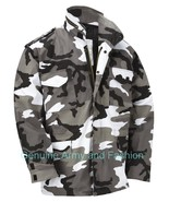 M65 US FIELD JACKET QUILTED LINER VINTAGE MILITARY ARMY COMBAT COAT URBA... - $55.57+