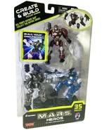 M.A.R.S.Heros Cybotronix, Create & Build Your Own-Darkbeat, Martian, Bla... - $14.95