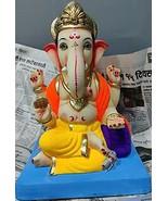 12 Inch (30 cm) Ganpati Idol Ganesh chaturthi Festival from India Eco Fr... - $349.00