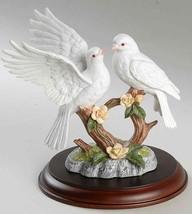 Lenox Friedliche Hingabe Doves und Rosen (Feines Porzellan 1991) - $108.52