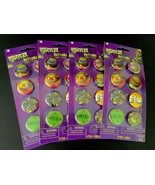 Teenage Mutant Ninja Turtles Buttons 32 Count Party Favors American Gree... - $14.01