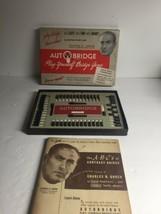 Vintage 1950's Goren Autobridge Play Yourself  Bridge Playing Board - $12.82