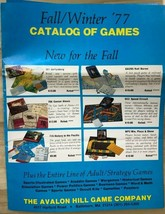 AVALON HILL GAME COMPANY vintage catalog & dealer packet with prices etc. (1977) - $19.79