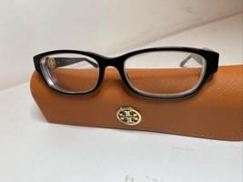 NEW Tory Burch TY 2055 1312 black 51-16-135MM  Eyeglasses Frame CASE - $46.58
