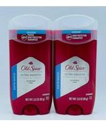 2x Old Spice Ultra Smooth CLEAN SLATE Deodorant Aluminum Free 3 oz Free ... - $10.99