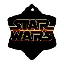 Star Wars Procelain Ornaments (Snowflake) Christmas - $6.99