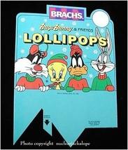 Looney Tunes Bugs Bunny & Friends Lollipops Display Insert - $15.99