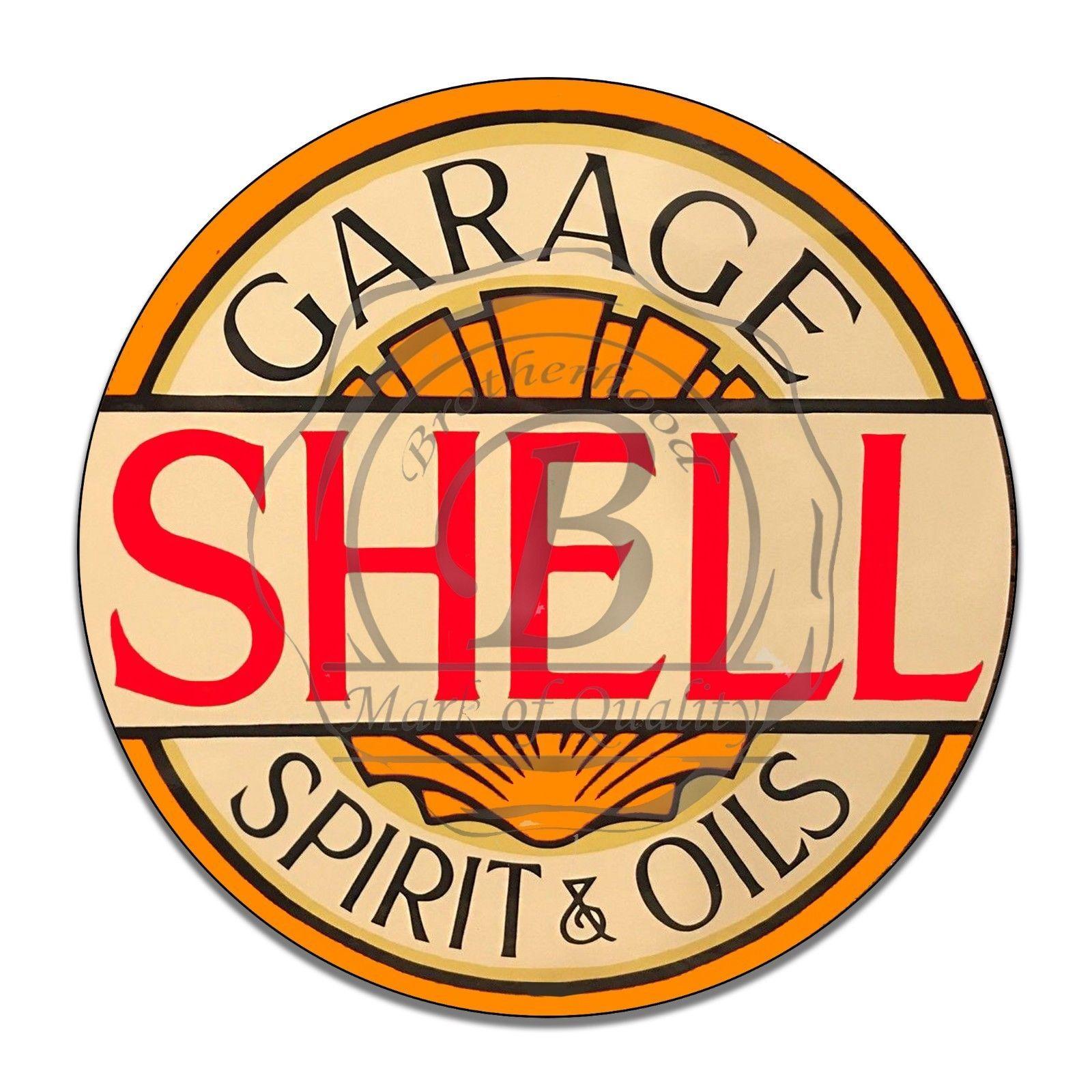 Vintage Garage Sign Metal Decor Gas and Oil Sign Valvoline Ethyl Gasoline Comp