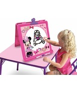 Disney Minnie Mouse Little Artist Double-Sided Easel with Markers New in... - $27.95