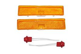 A-Team Performance 2 Side Markers Corner Lamp Parking Light Compatible With F150