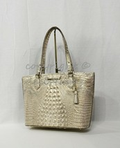 NWT Brahmin Medium Asher Leather Tote/Shoulder Bag Sugar Cane Melbourne - $249.00