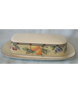 Mikasa Garden Harvest CAC29 Quarter Pound Butter Dish w/Lid - $42.46