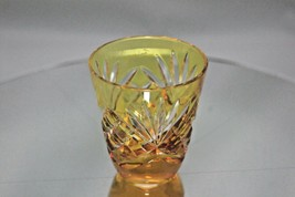 Faberge Crystal Yellow Gold Shot Glass - $115.00