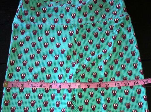 LuLaRoe Disney Minnie Mouse Green Leggings Women's OS One Size (2-10) NEW.  N8 image 6