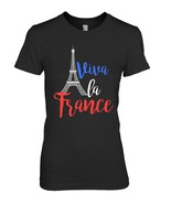 Bastille Day Shirt 2018 Viva La France Eiffel Men Women - $19.99+