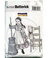 Butterick Sewing Pattern B4569 Size CF (4-5-6) Children's/Girls' Colonia... - $14.40