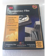3M Transparency Film for Copiers for 8.5 x 11 Paper 100 Sheets PP2200 - ... - $39.99