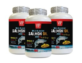 brain boosting supplement - ALASKAN SALMON OIL 2000 - omega-3 fatty acid... - $70.08