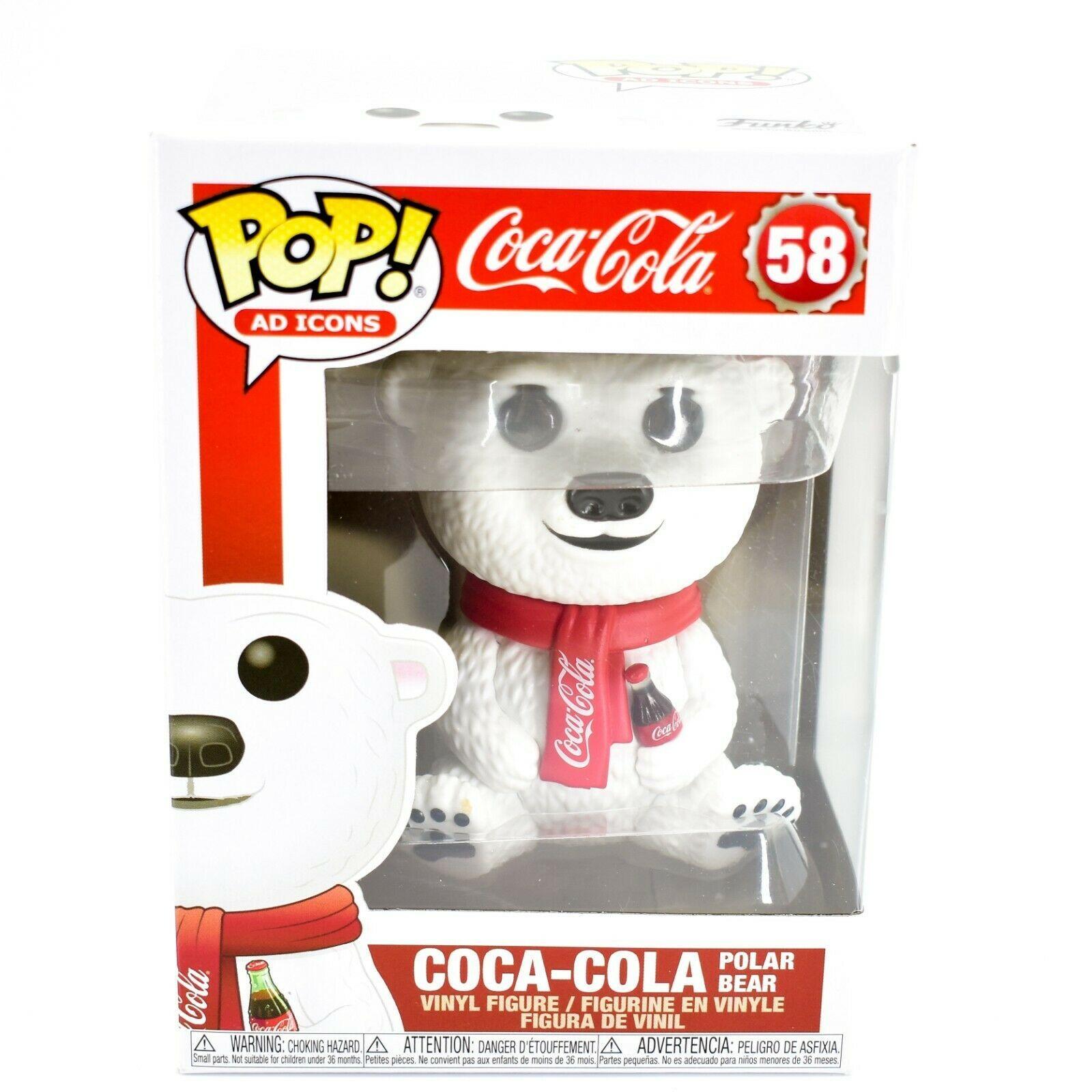 Funko Pop! Ad Icons Coca-Cola Polar Bear #58 Vinyl Action Figure