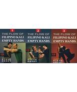 3 DVD SET Flow of Filipino Kali Empty Hands - Steve Grody escrima arnis fma - $59.95