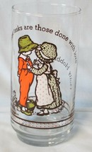 Coke and Taco Time Holly Hobbie Happy Talk Glass from Canada - $17.61