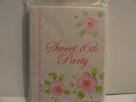 Sweet 16th Party Invitations with Envelopes - $2.99