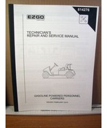 EZGO Technician's Repair Service Manual Gasoline Powered Personnel Carri... - $22.49