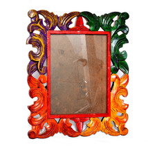 8X6 Picture Frames Made of Solid Wood High Definition Glass Table Top Display - $38.95