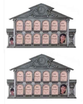 2 SCHOOL HOUSE PHOTO FRAMES Children's K-12th Keepsake Picture Collage - £30.69 GBP