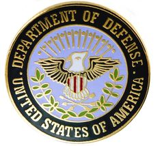 DOD DEPATMENT OF DEFENSE LAPEL HAT PIN - $15.33