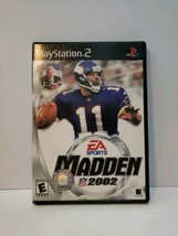 Madden 2002 - PS2 Game - $3.95