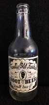 Vintage FROSTIE OLD FASHION ROOT BEER 12 Oz Glass Bottle - $7.95