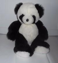 Vintage 1997 Ganz Black & White Baby Pandora Panda Bear Stuffed Plush Animal Toy - $52.41